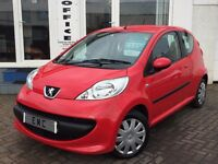 2008 Peugeot 107 1.0 12v Urban~FSH~1 YR MOT WITH SALE~LOW MILES