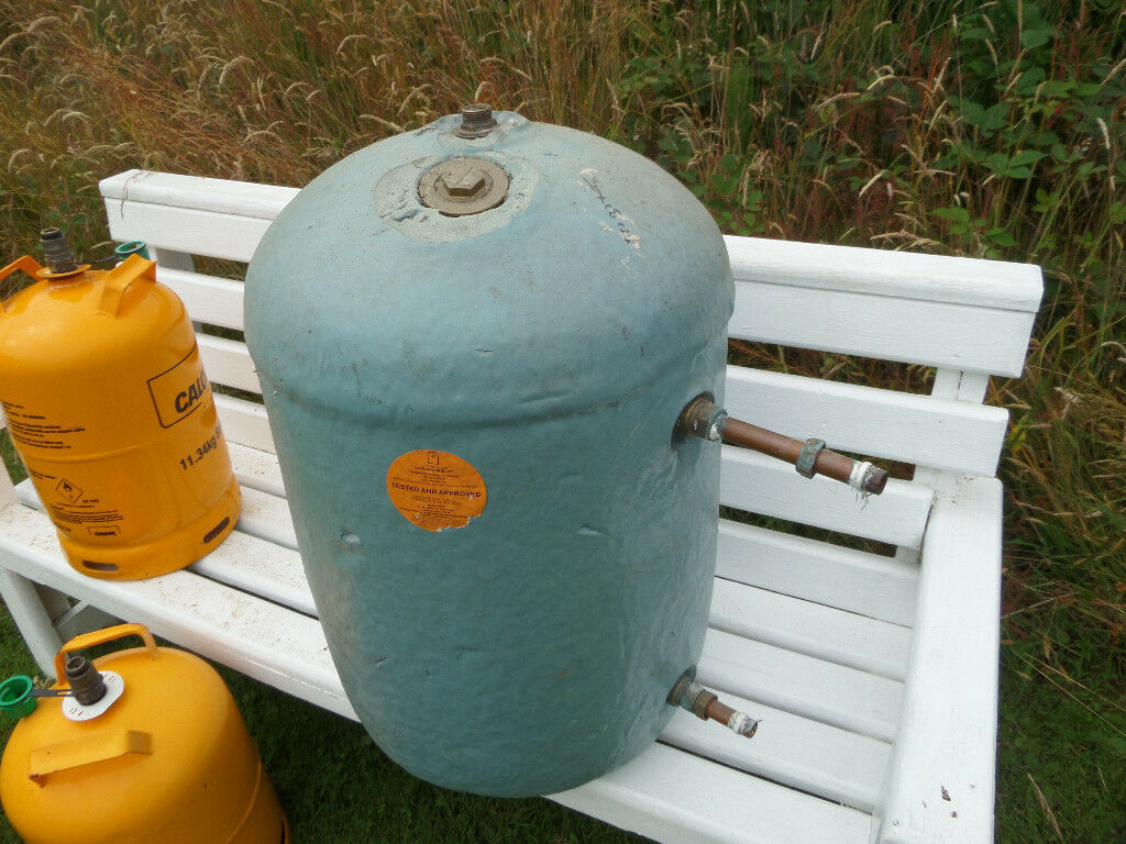 Insulated hot water tank.£40. Two Butane gas tanks £5 each Calls ...