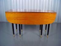 Retro Gateleg Dining Table Vintage G Plan Furniture X