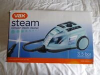 VAX Compact Steam Cleaner,Model V-081 as new.