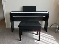 ROLAND FP-30 Digital Piano with matching stand and adjustable stool. 18mths old- exc. condition.