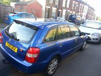 Mazda 323F Blue 1.6 Petrol