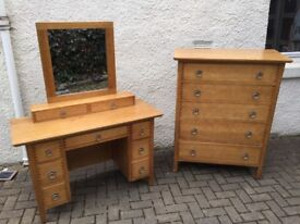 Beautiful Bedroom furniture - John Lewis Dressing Table and Chest of Drawers - good condition