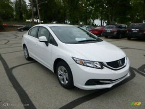 Honda Civic 2013 LX with Safety and Etest
