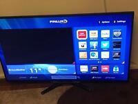 Finlux. 50 inch full hd smart led tv built wifi