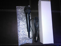 Ion Microphone Black On/off Switch New