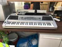 Nevada NK009 61 Note Electronic Home Portable Keyboard With Built-in Speakers