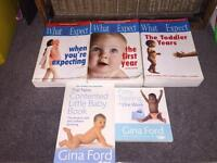 What to expect and Gina ford books
