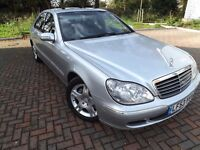 Mercedes-Benz S Class 3.2 S320 CDI 4dr,FULLY LOADED,2003
