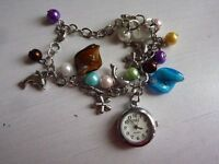lovely bracelet with watch (see photo)