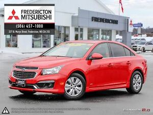 2016 Chevrolet Cruze 2LT RS PKG! HEATED LEATHER! SUNROOF!