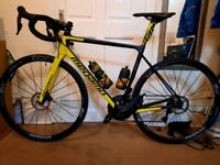 MEGAMO RAISE 05 ROAD BIKE FULL CARBON + SHIMANO ULTEGRA Di2