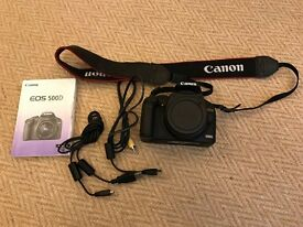 Canon 550D, over £2,000 of high quality lenses, accessories and carry bag