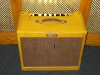 Fender Blues Junior III tweed valve combo Limited Edition relic version
