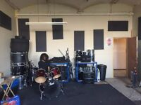 Shared rehearsal space, £120 monthly