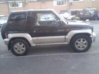 RARE 1996 MITSUBISHI PAJERO JR 1.1 4WD AUTO