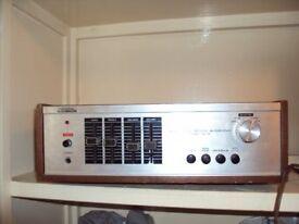 Vintage Solid State amplifier