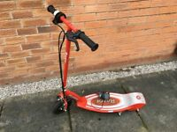 Razor Electric Scooter E100 Great Condition