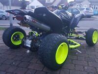 Yamaha 660 raptor road legal quad rm crf yzf drift rmz Honda etc 700 r1 gsxr