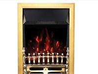 Electric Fire - Coal Effect. 13Amp Plug in Supply