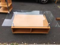 Large coffee table set