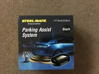 Steelmate PTS400EXblack, 4 sensor reverse parking assist system