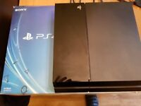 PlayStation 4 faulty but works