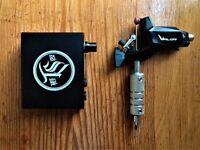 TATsoul Valor rotary tattoo machine kit with power supply