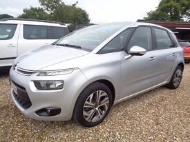 CITROEN C4 PICASSO 1.6 BlueHDi Selection 5dr (start/stop) (silver) 2016