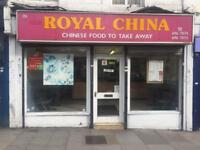 Sell Shop Chinese takeaway shop