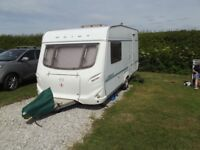 Geist 485L touring caravan one owner,serviced annually,motor mover two new tyres two awnings.quality