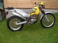 2003 beta alp road legal trials bike 200cc four stroke