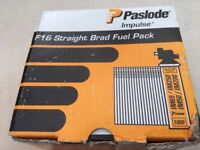 Paslode 1.6x63mm Straight Brad Fuel pack