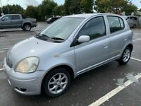 2003 TOYOTA YARIS 1.3 / ONLY 72000 MILES / 6 MONTHS MOT / PART SERVICE HISTORY / CLEAN / ONLY £975