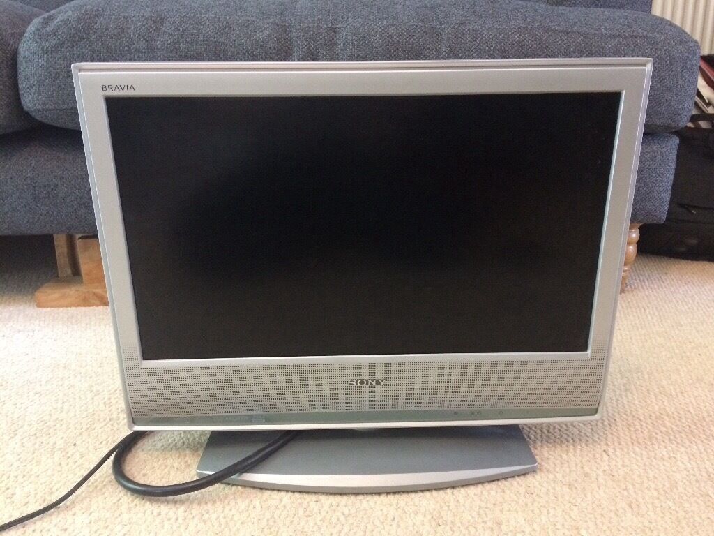 20 inch flat screen Sony tv and separate freeview   in ...
