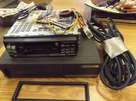 cd auto changer and head unit.