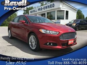 2014 Ford Fusion SE  *1-owner  Only 16K  Moon/Leather/Nav
