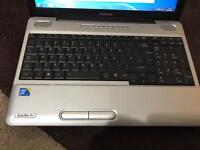 Toshiba satellite pro intel core2duo laptop with 3 GB ram hdd 320 GB window 7 Office 2013