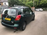 Toyota Corolla Verso 1.8 Petrol Automatic - 1 Owner - Full Service His