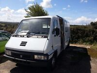 Ex ambulance turbo diesel 25'000m camper catering conversion project