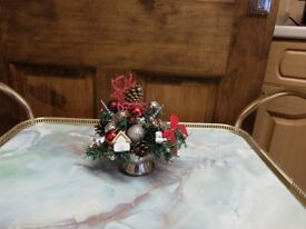 Christmas Table centre pieces
