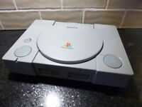 Sony Playstation 1 console and controller