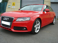 Audi, A4, Technik, TDI, Sat Nav,Bang Olufsen, Xenon Lights,168 BHP, Sports Suspension, Low Miles.