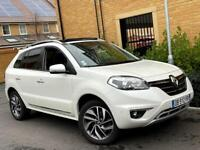 LEFT HAND DRIVE 2013 RENAULT KOLEOS 2.0 DIESEL [FRENCH REG] 58K MILES/MANUAL/SATNAV/PAN-ROOF/4X4/LHD