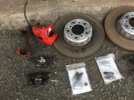 Bmw E39 M5 Brakes Discs/Front Calipers/Brembo pads to match