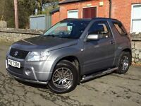 Immaculate late 2007 Suzuki Grand Vitara 1.6 VVT 3DR. trade in considered, credit cards accepted.