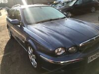 FINANCE AVAILABLE!!! 2005 JAGUAR X-TYPE 2.0 D SE 5dr, FULL LEATHER, LONG MOT, SAT-NAV, AA WARRANTY