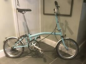 Brompton M3L 2015 - Folding Bike - Good Condition - 1 Owner From New