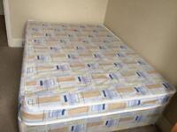 Urgent sale: Double size divan bed with mattress