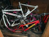 Bike frames and parts Free